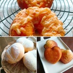 夏色ベーグル&ふんわり白パン&レモン香るマドレーヌ