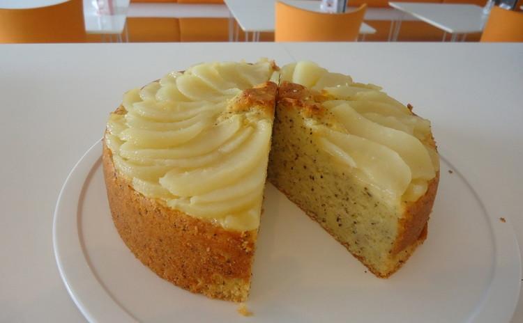 2名限定★バター不使用洋梨と紅茶のケーキ