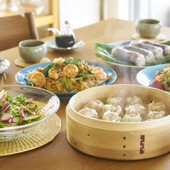 みんなで集まる日のごはん アジアの料理でにぎやかに
