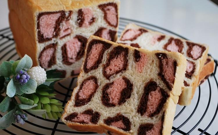 春が来た!可愛いピンクの『豹柄パン』&定番の『お惣菜パン』