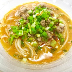 手作り調味料で作る手打ちの坦々麺&老麺入り水餃子