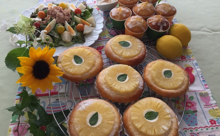[日程追加]「パインパン」と「レモンのミニカップケーキ」