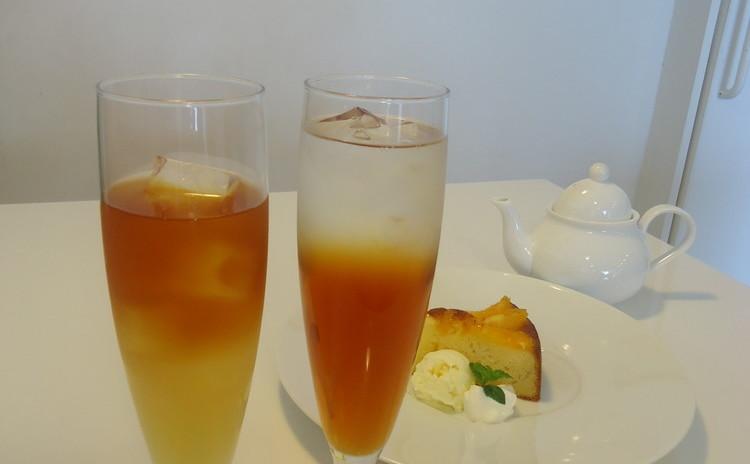 Happy紅茶レッスン★ランチ付き♪アレンジアイスティー