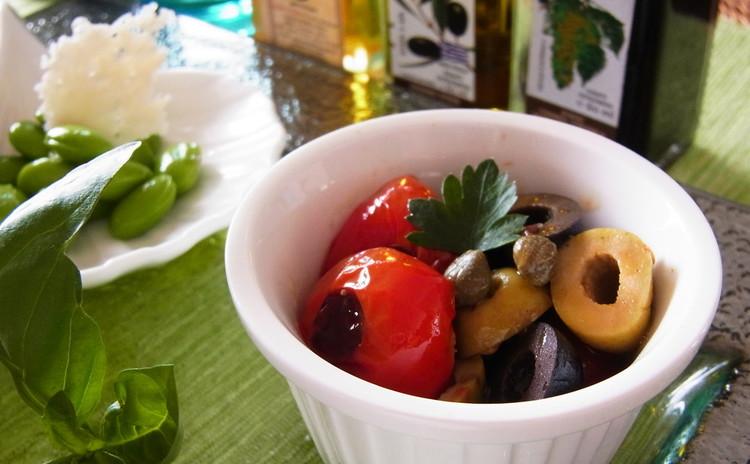 マグロのサクッとフライと大好きな野菜をちょっとづつ デリ風サラダ全7品