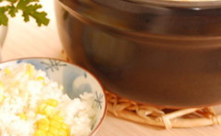 とうもろこしと塩麹の炊き込みご飯