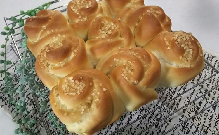 ランチ付☆白神こだま酵母で作る「スクエア型お花パン」