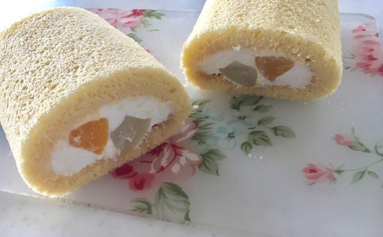 米粉入りロールケーキ