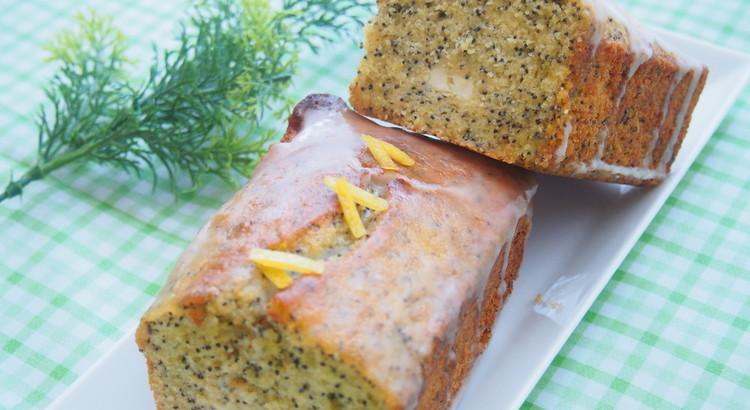レモンポピーシード&クリームチーズケーキ