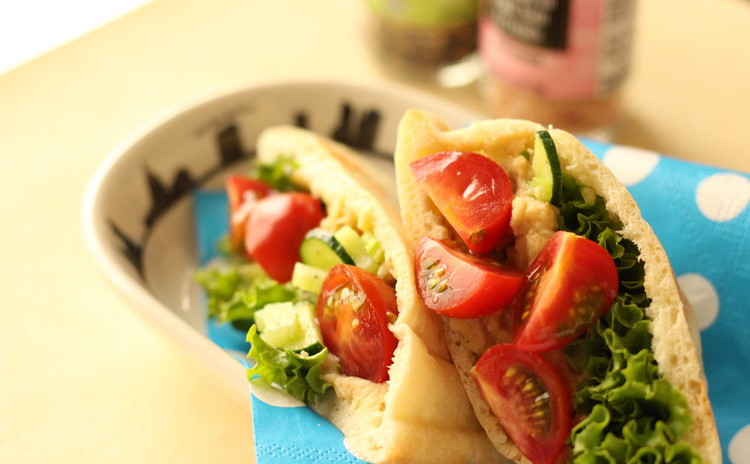 冷やして食べよ!ピタブレッドのフマスサンドイッチ&ウーピーパイ・アイス