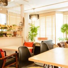 自店内のカフェスペース