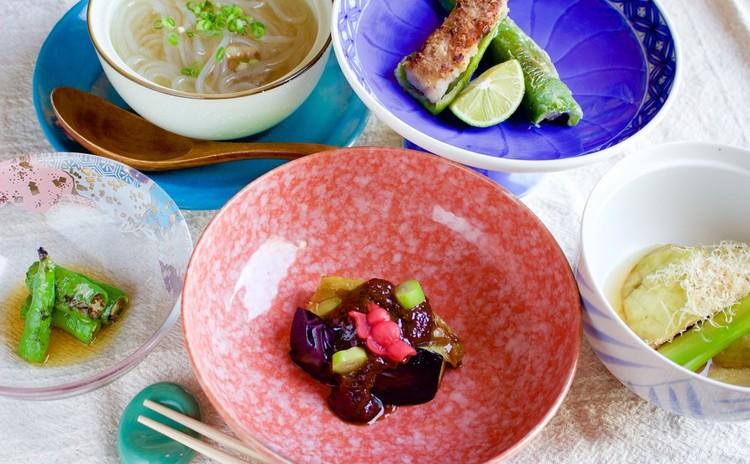 【銀座の老舗 福和】京野菜を使った和食4品