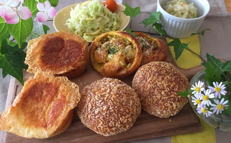 「とかち野酵母」で作る3種のカレーパン