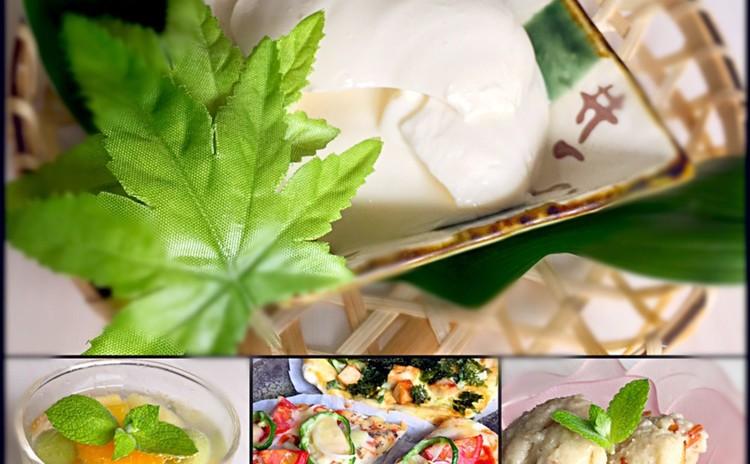 リクエスト 親子企画、子供と作ろう手作り豆腐とプラス豆腐のメニュー