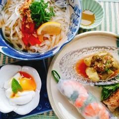 もちもち麺が美味しい!夏にぴったりベトナム料理・フォー定食