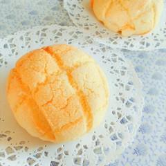 国産小麦粉で作るふんわりメロンパン&チョコチップメロンパン