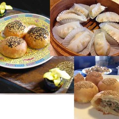 台湾名物胡椒餅&潮州粉果を作ります♪