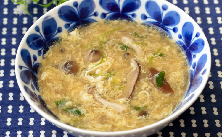 きのこたっぷり♡とろとろ中華スープ