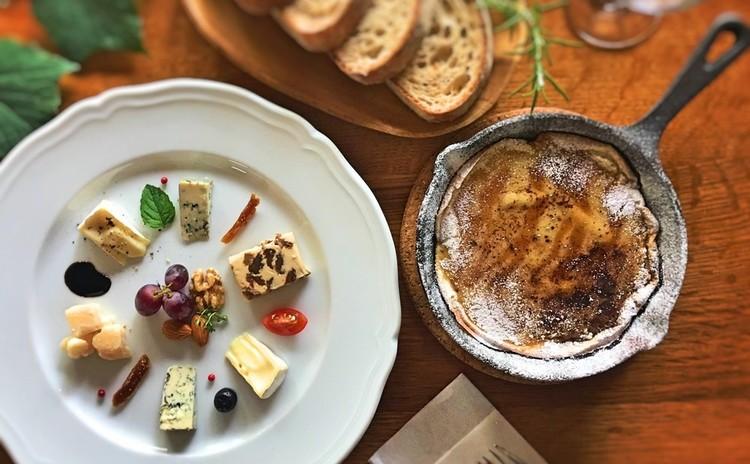 こんがりチーズのダッチパフ&かんたんプラトー・ド・フロマージュ