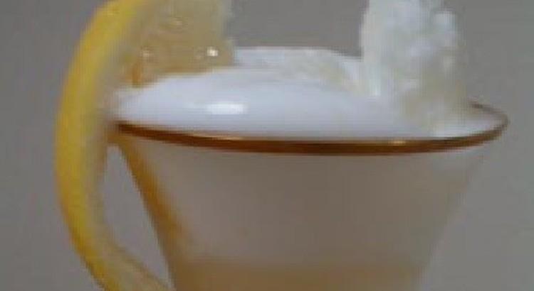 【プロが教える】(初級)『レモンシャーベットのシャンパンフロート』