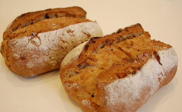 【プロが教える】天然酵母が香る『イチジクとクルミのライ麦パン』中型3個