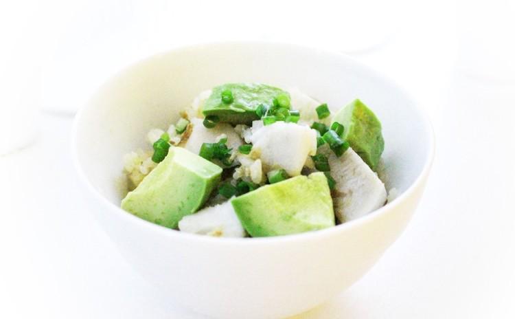 夏野菜の炊き込み混ぜご飯
