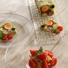 夏のおもてなしレッスン!簡単おしゃれな野菜のテリーヌと冷製パスタ