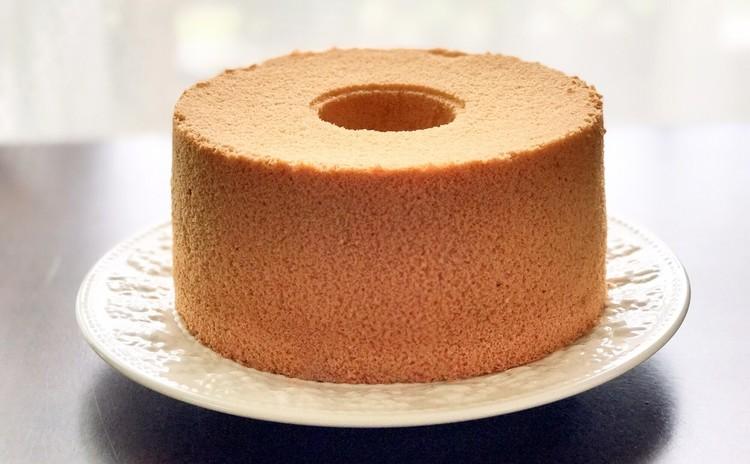 米粉&きな粉のシフォンケーキ☆シンプルですが、飽きの来ない「和」の味
