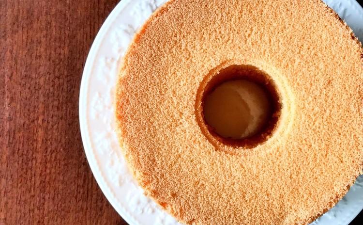 米粉ときな粉のシフォンケーキ