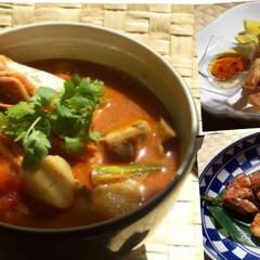 おウチで楽しむタイ料理♫酸っぱ辛いトムヤムクンでデトックス‼︎