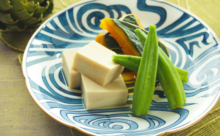 夏野菜のさっぱり煮物