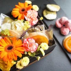 プレゼントやおみやげにぴったり!お花とお菓子のスペシャルコラボレッスン