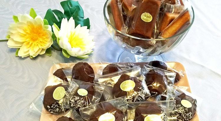 フィナンシェとショコラマドレーヌ・ココ❤