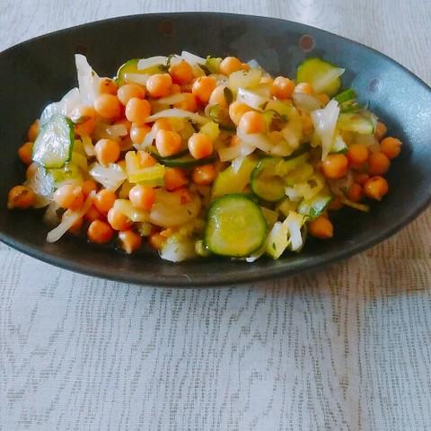 チックピー(ひよこ豆)サラダ