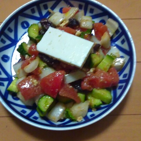 ギリシャ田舎サラダ