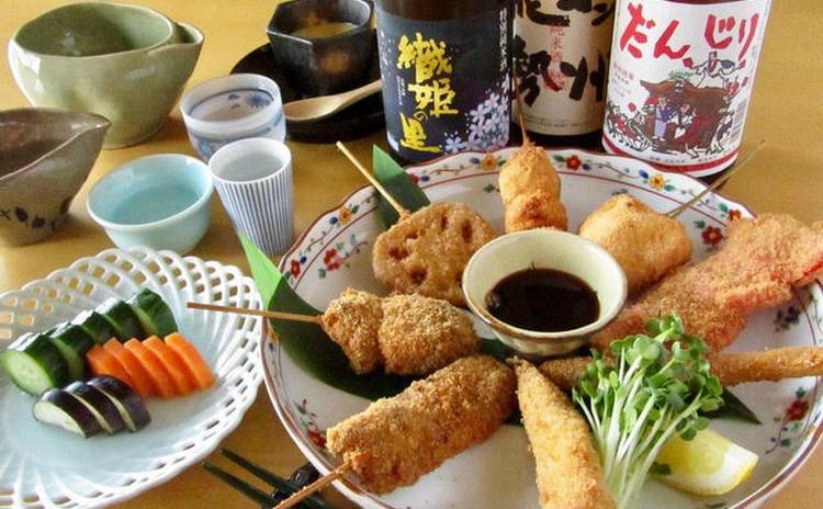 大阪の日本酒を楽しもう!大阪の旨い酒と名物料理を味わいます!