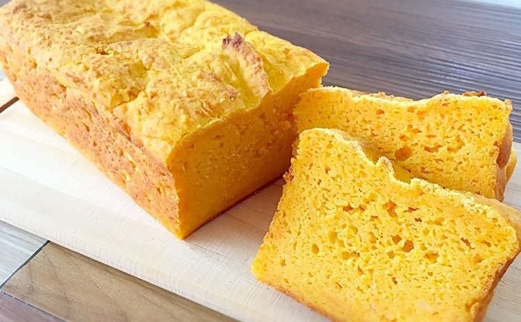 小麦,卵,乳製品不使用!人参1本キャロットパンと米粉のサックリタルト