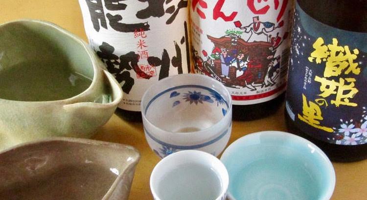 ⑤大阪のお酒の試飲
