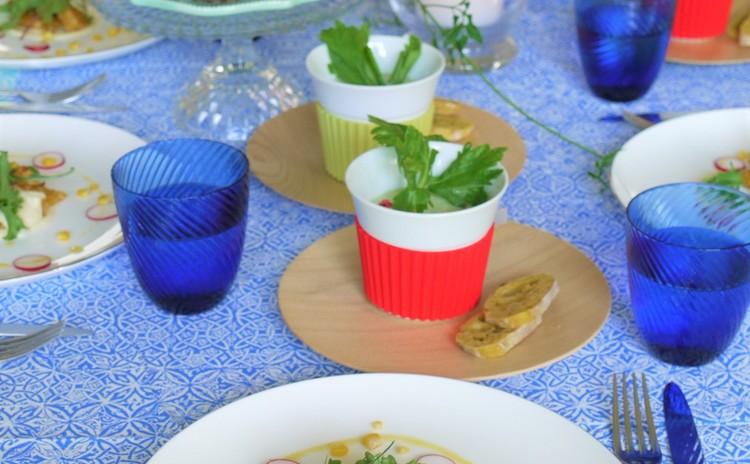 夏のひんやり料理とデザート