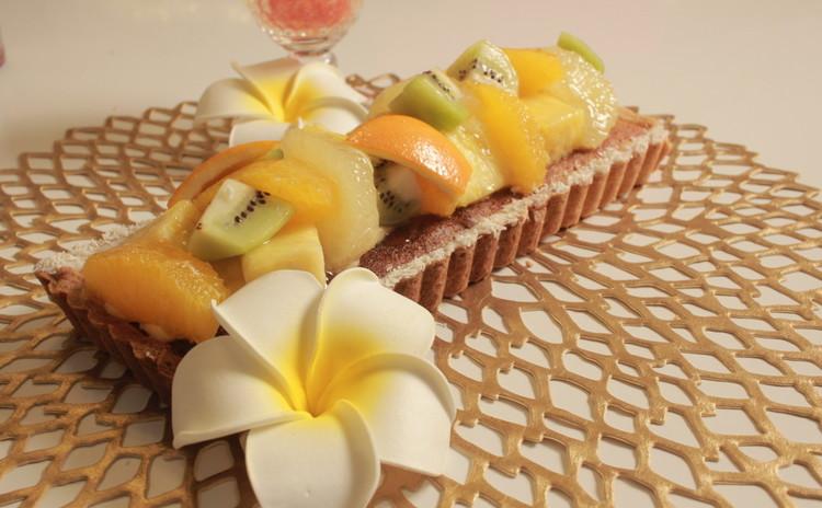 tablette aux fruits~フルーツたっぷり!夏のタルト