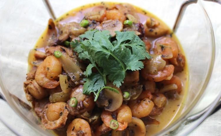 時短インド料理フェスティバル第1弾  「シーフードカリー」