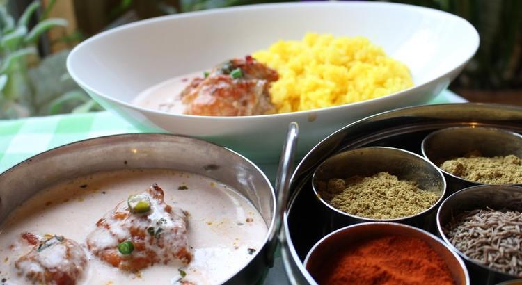 インド料理フェスティバル第2弾 フレンチのような至福の「バターチキン」
