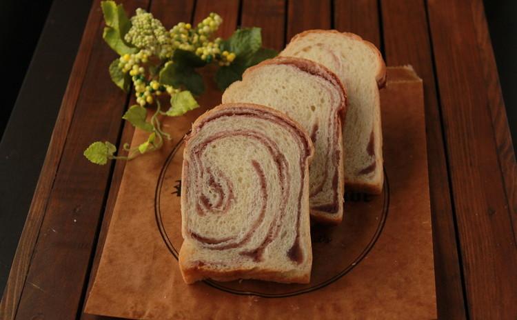 あんこのぐるぐる食パン&カップイングリッシュマフィン