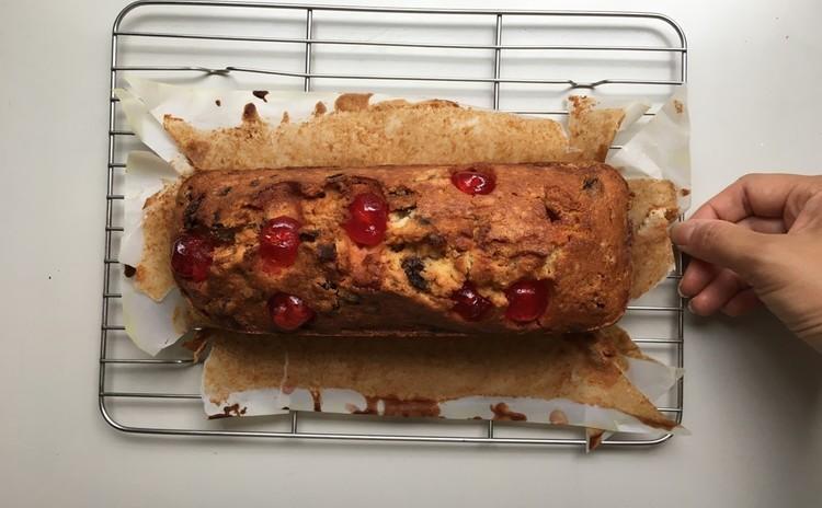 【実践&お持ち帰り】ドライフルーツぎっしり大人のパウンドケーキ