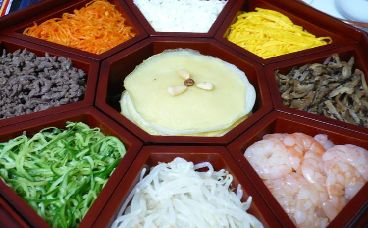 韓国宮中料理「クジョルパン(九折板)」を作りましょう