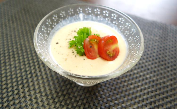 【サーモン&豆腐のムース】美肌に欠かせないアスタキサンチンたっぷり