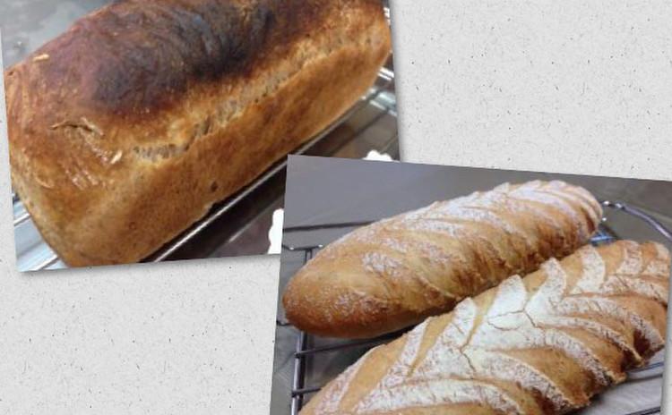 高加水の自家製酵母パン オ ノアとキーフェルンツァプフェン