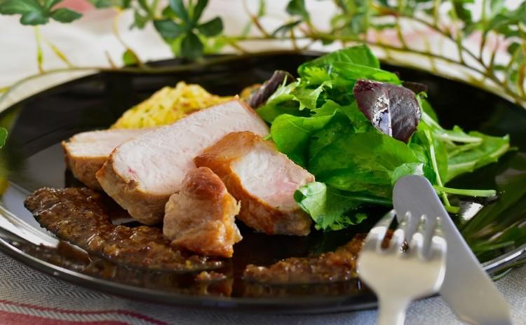 豚ロース肉のソテー