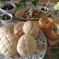 ★日程追加★「とかち野酵母」でメロンパン&ツナコーンパン
