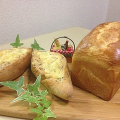 【リクエスト感謝!】贅沢にバターたっぷりなバタートップとセザムホルツ