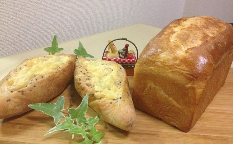 贅沢にバターたっぷりなバタートップとセザムホルツ